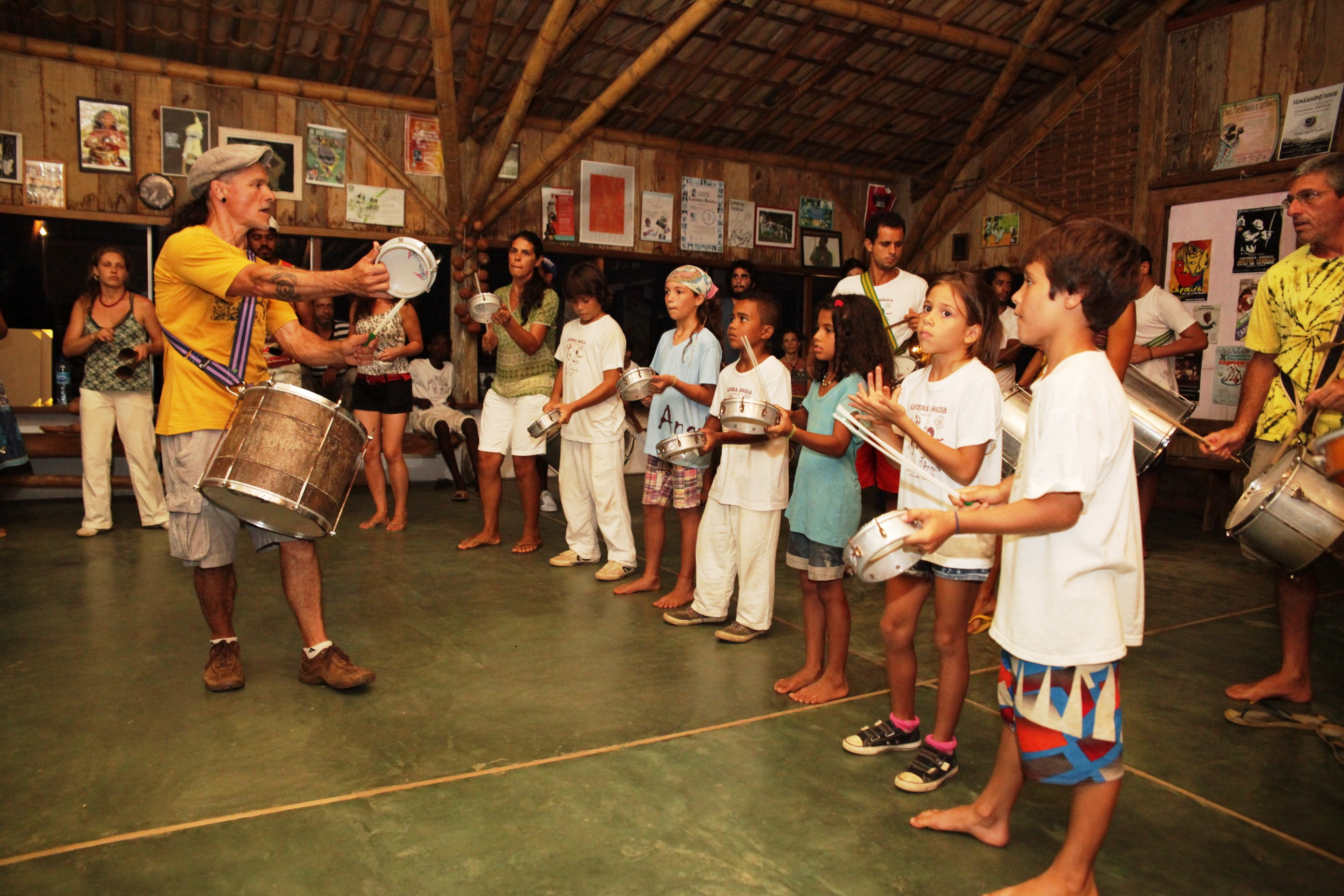 Aula de Samba .Barracao
