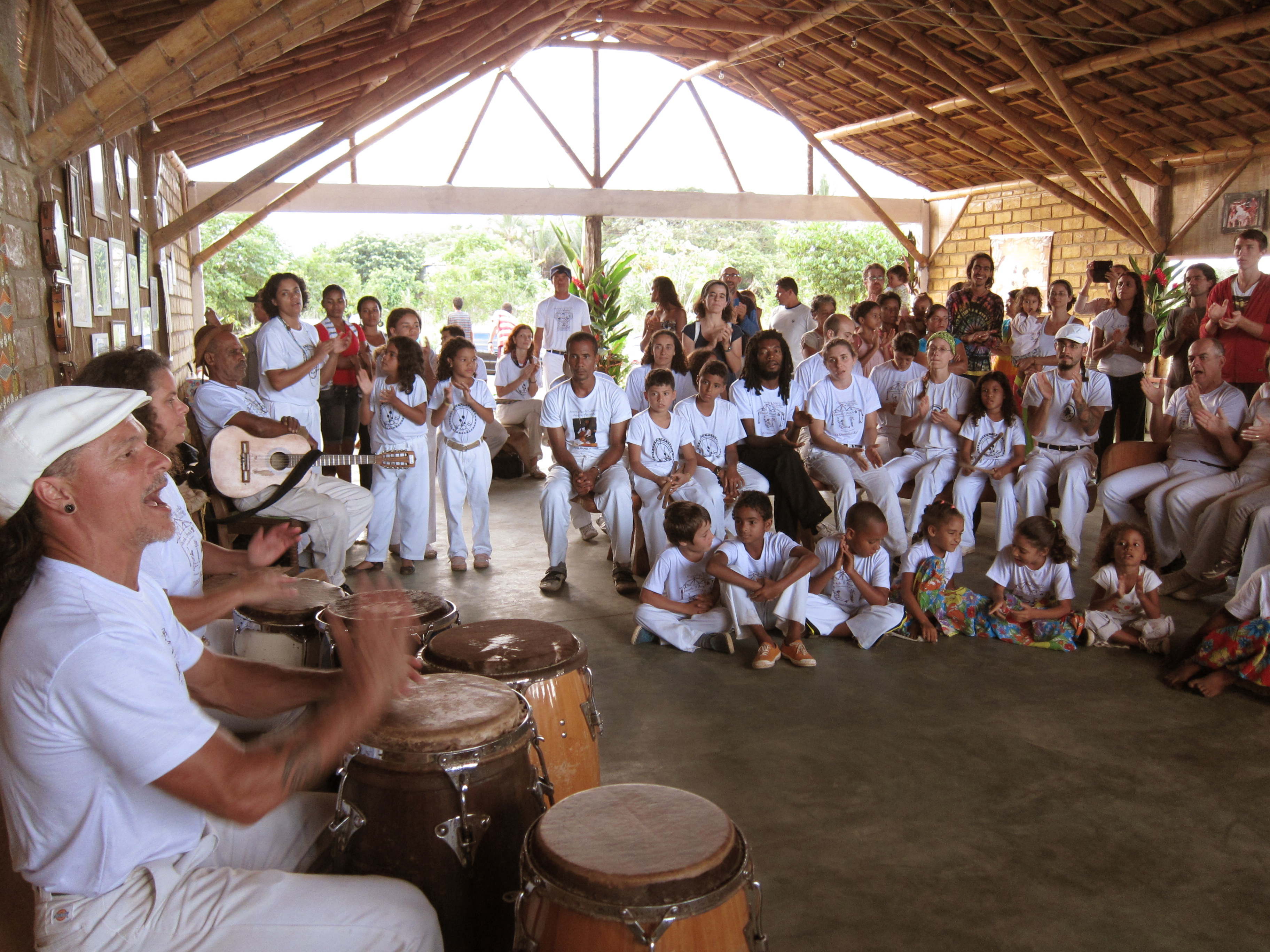 Percussao Afro . Barracao