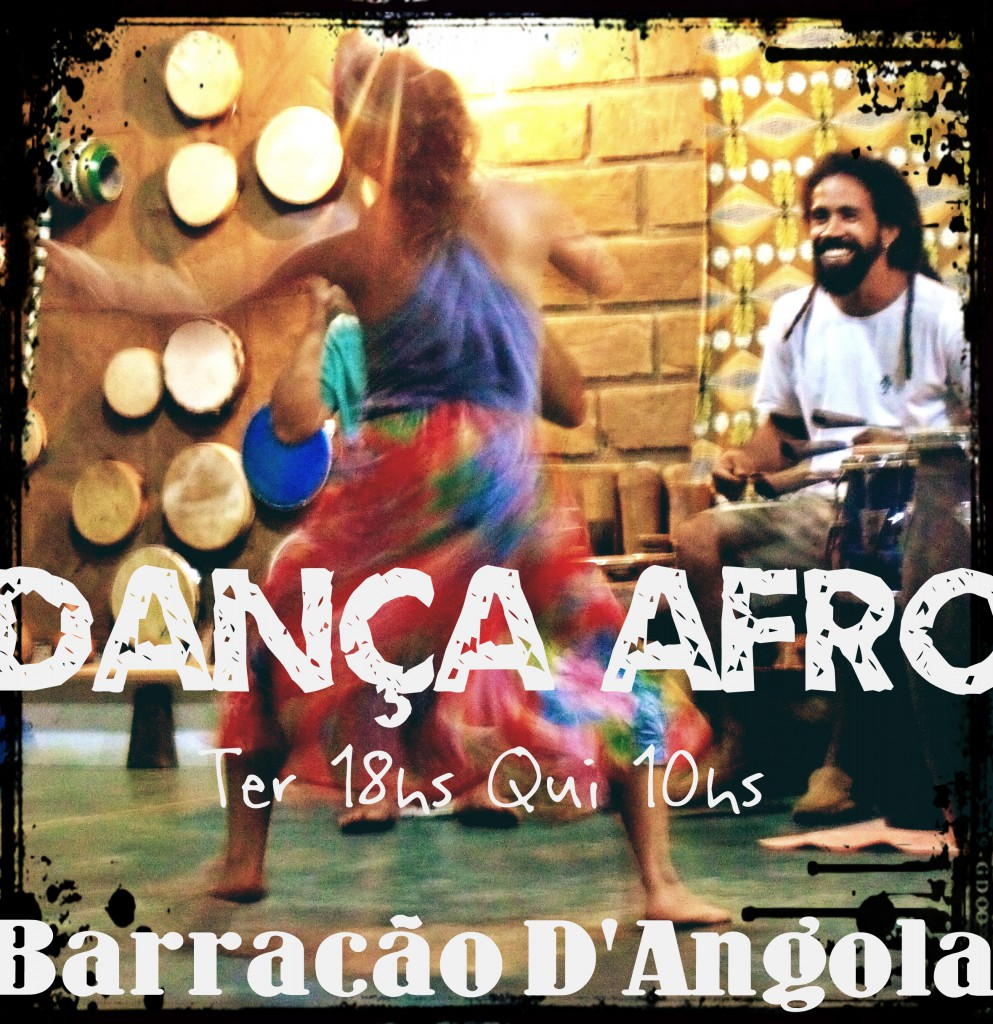 danca Afro no Barracao