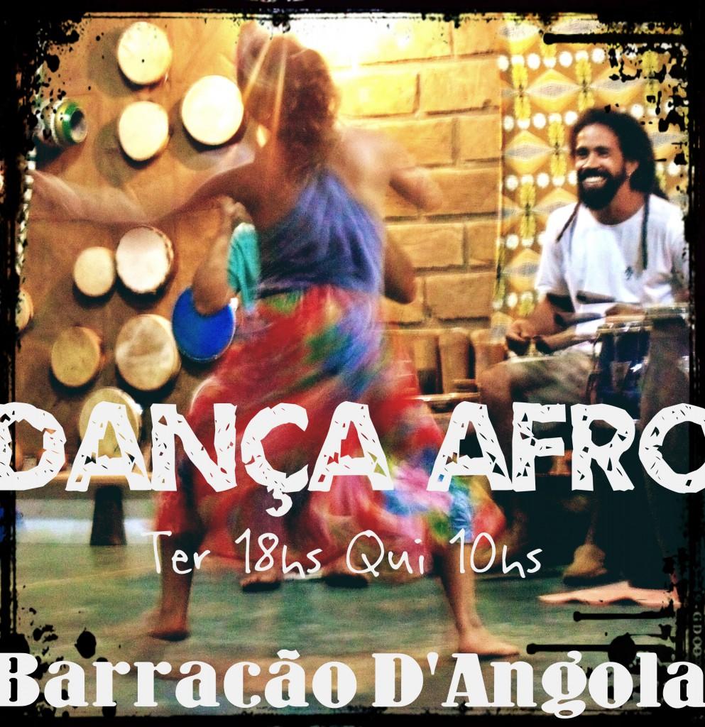 danca Afro no Barracao
